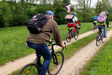 Radlobby-Radtour entlang der S34
